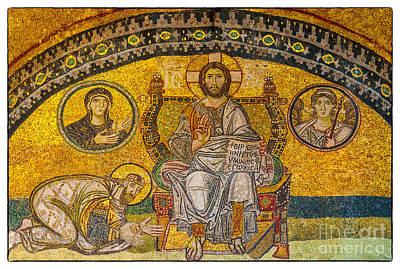 Hagia Sofia Mosaic 04 Poster
