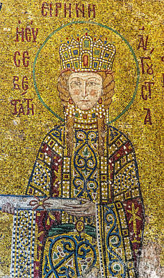Hagia Sofia Mosaic 06 Poster