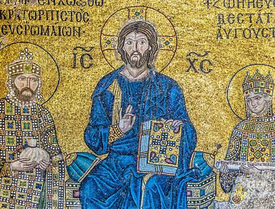 Hagia Sofia Mosaic 09 Poster