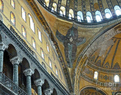 Poster featuring the photograph Hagia Sophia 2 - Istanbul by Cheryl Del Toro
