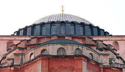 Hagia Sophia Curves 02 Poster by Rick Piper Photography