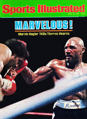 Hagler Vs Hearns Poster