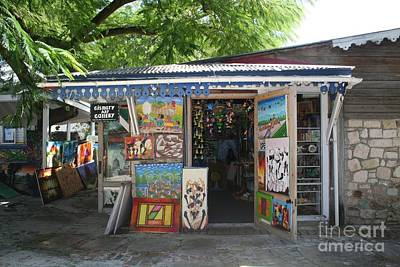 Poster featuring the photograph Haitian Art Shack by The Art of Alice Terrill