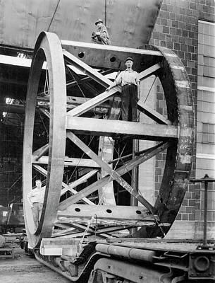 Hale Telescope Framework Transportation Poster