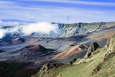 Haleakala Crater Poster by Kelley King