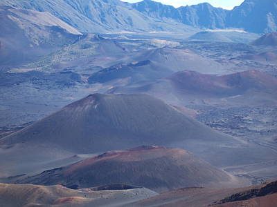 Poster featuring the photograph Haleakala Crater by Sheila Byers