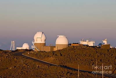 Haleakala Observatory, Hawaii Poster