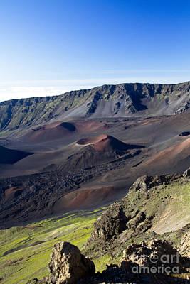 Haleakala Sunrise On The Summit Maui Hawaii - Kalahaku Overlook Poster