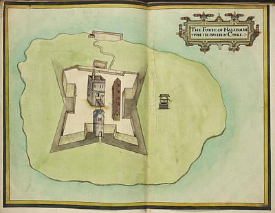 Haleboline Fort Cork Poster by British Library