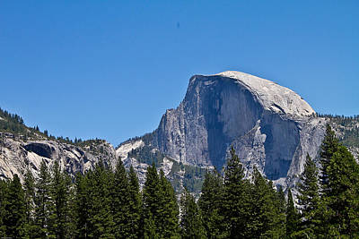 Poster featuring the photograph Half Dome by Brian Williamson