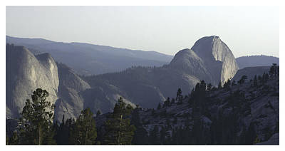 Half Dome From Olmsted Pt Poster