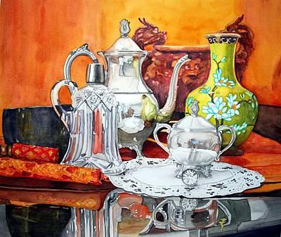 Half Past Tea Poster by Gerald Carpenter