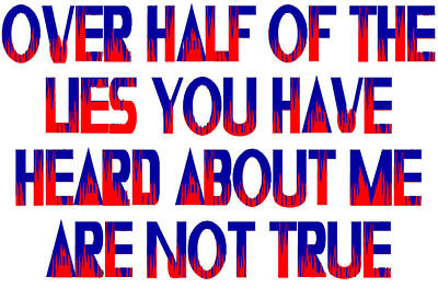 Half The Lies Poster