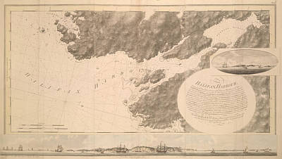 Halifax Harbour Poster by British Library