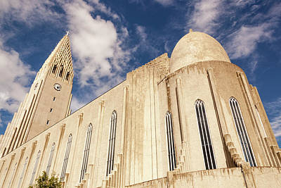 Hallgrimskirkja Church, Reykjavik Poster