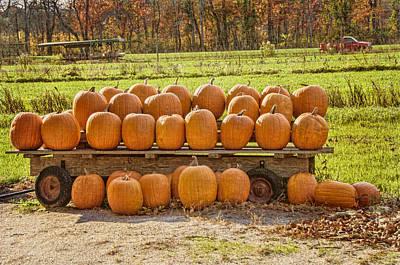 Halloween Leftovers Poster by Cathy Kovarik