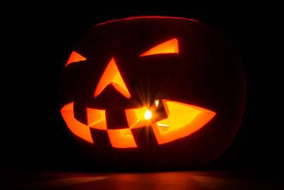 Halloween - Smiling Jack O' Lantern Poster