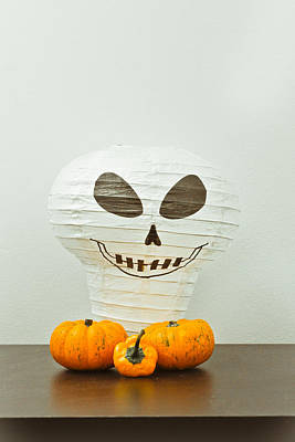 Halloween Still Life Poster by Tom Gowanlock