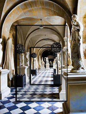 Halls Of Versailles Paris Poster