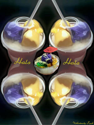 Halo Halo Desert Poster