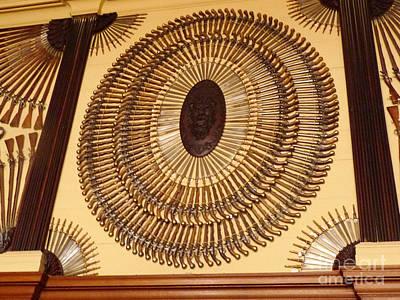 Hampton Court Weaponry Poster by Deborah Smolinske