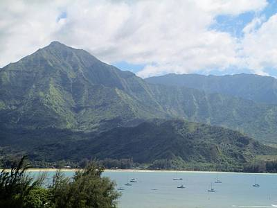 Poster featuring the photograph Hanalei Bay by Alohi Fujimoto