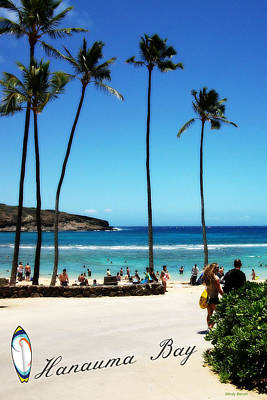 Poster featuring the photograph Hanauma Bay by Mindy Bench
