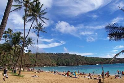 Hanauma Bay Oahu Hawaii Poster
