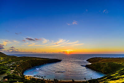 Hanauma Bay Sunrise Poster