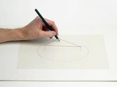 Hand Drawing Ellipse Poster by Dorling Kindersley/uig