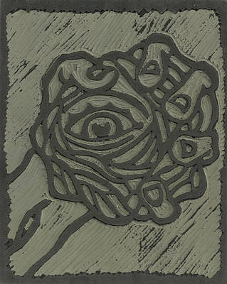 Hand Eye Coordination Linoleum Block Carving Poster