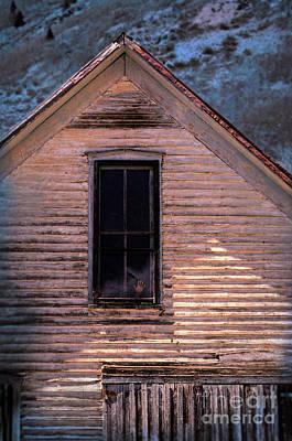 Hand In Window Poster by Jill Battaglia