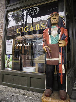 Hand Rolled Cigars Poster