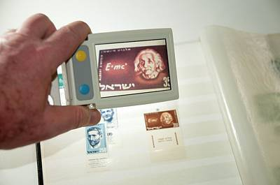 Handheld Electronic Magnifier Poster by Photostock-israel