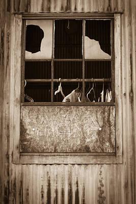 Hangers In The Window Poster