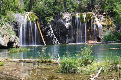 Hanging Lake Poster by Eric Glaser