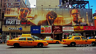 Hangover Movie Poster In New York City Poster by Nishanth Gopinathan
