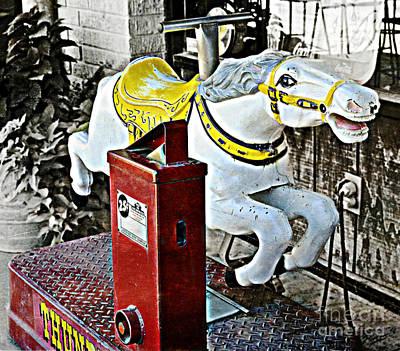 Hannibal Mechanical Riding Horse Poster