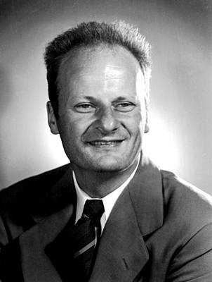 Hans Bethe, German-american Physicist Poster by Science Source