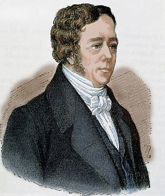 Hans Christian Oersted (1777-1851 Poster by Prisma Archivo