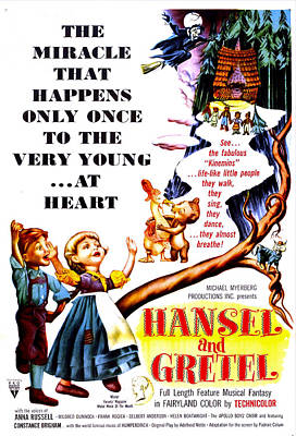 Hansel And Gretel, Us Poster, 1954 Poster by Everett