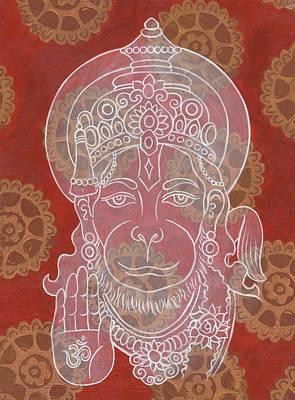 Hanuman Poster by Jennifer Mazzucco
