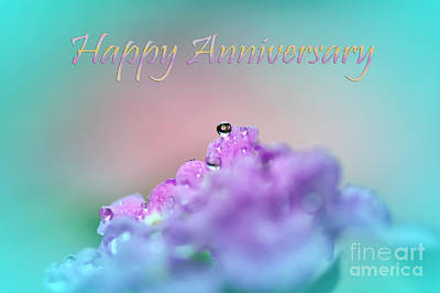 Happy Anniversary Poster by Kaye Menner