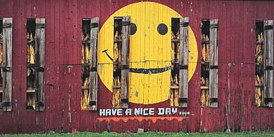 Happy Barn Poster