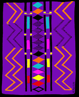 Happy Blanket Poster by Anderson R Moore