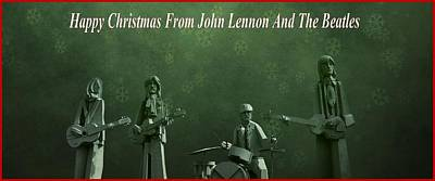 Happy Christmas From John Lennon Poster by Dan Sproul