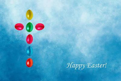 Happy Easter Poster by Alexander Senin