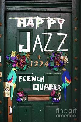 Happy Jazz Poster by John Rizzuto
