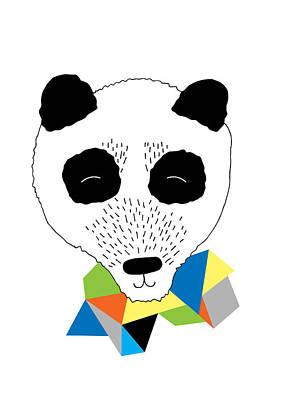 Happy Panda Poster