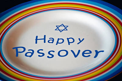 Happy Passover Poster by Tikvah's Hope
